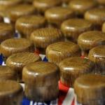 Mushrooms epoxied