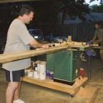 milling setup