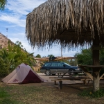 Campsite in Mulegé