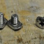 Foot-brace screw