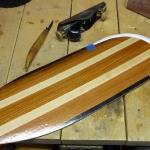 Spare paddle